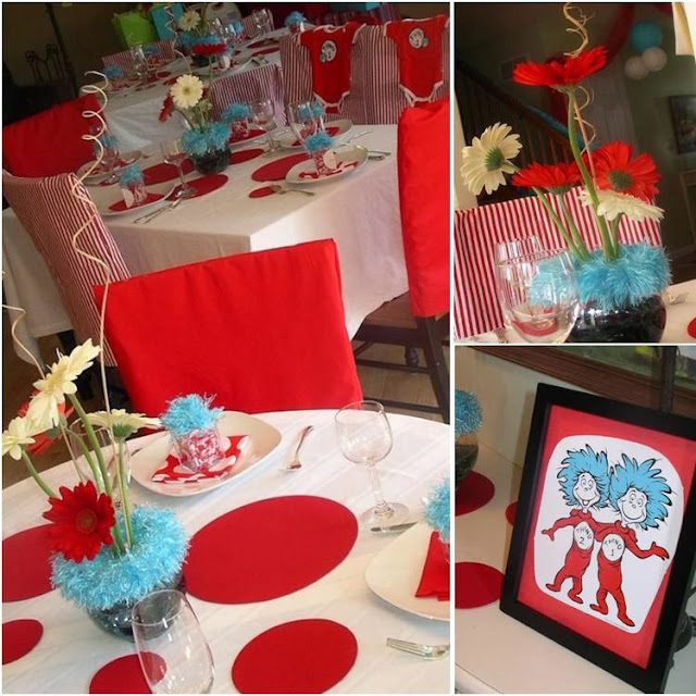 It 39 s a twin thing dr seuss baby shower baby shower for Baby shower decoration ideas for twins