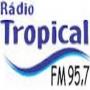 ouvir a Rádio Tropical FM 95,7 Três Corações MG
