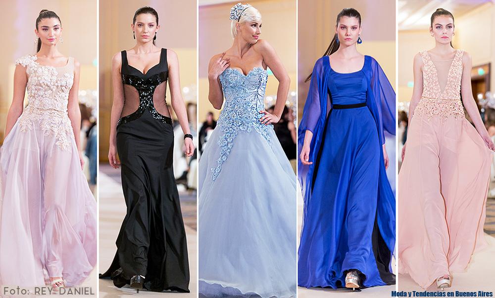 Tendencias moda vestidos fiesta