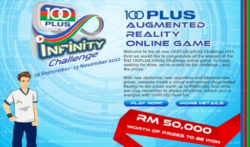 100Plus 'Infinity Challenge' Contest II