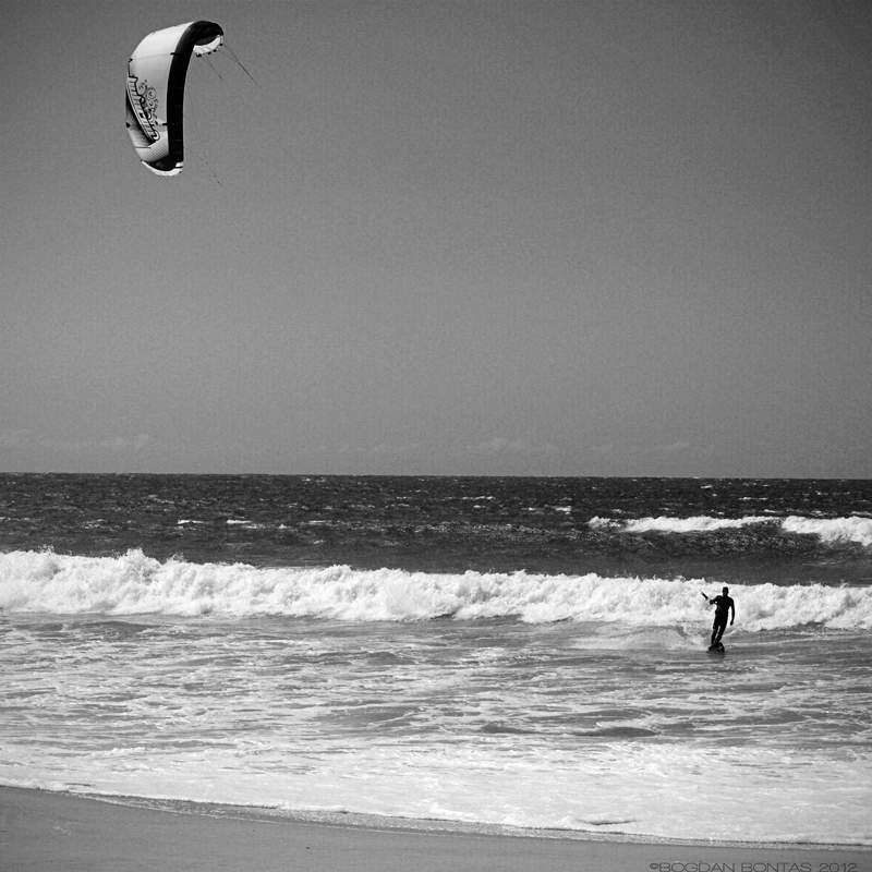 windsurfer in Praia da Barra, Portugal ©Bogdan Bontas 2012