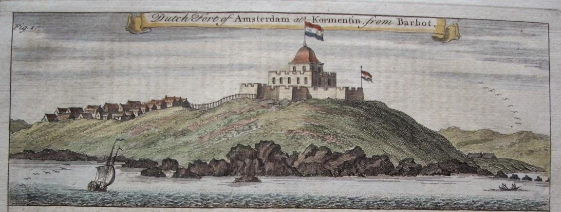Souvenir Chronicles Africa Ghana Fort Amsterdam