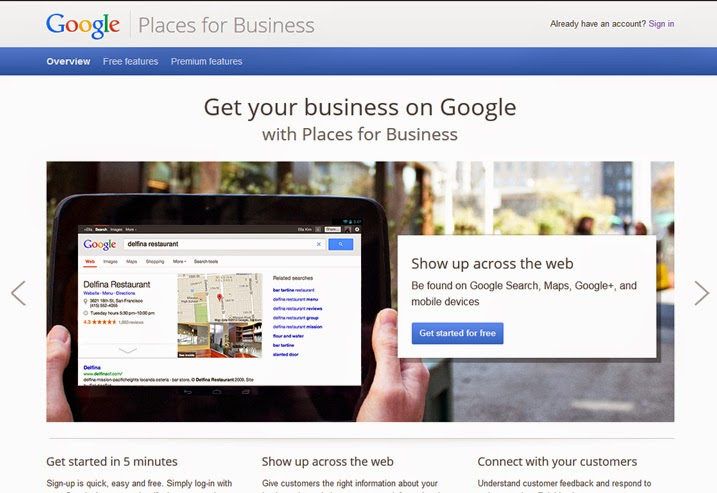 google places for local and small businesses