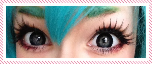 Customer's Photo Review: Cleo Black Contact Lenses at ohmylens.com