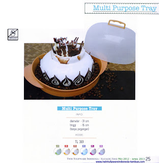 Info & Harga Twin Tulip Tulipware 2014 : Multi Purpose Tray