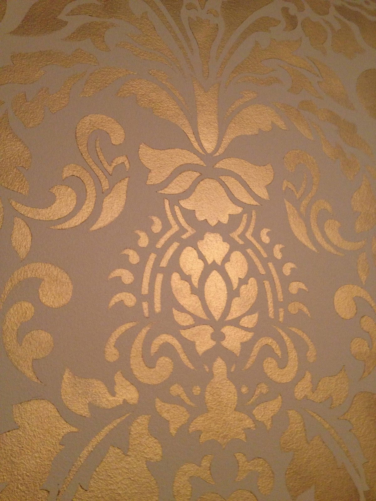 Gold wall stencil image collections home wall decoration ideas gold stencil wall images home wall decoration ideas doodles stitches rub n buff gold stencil i amipublicfo Choice Image