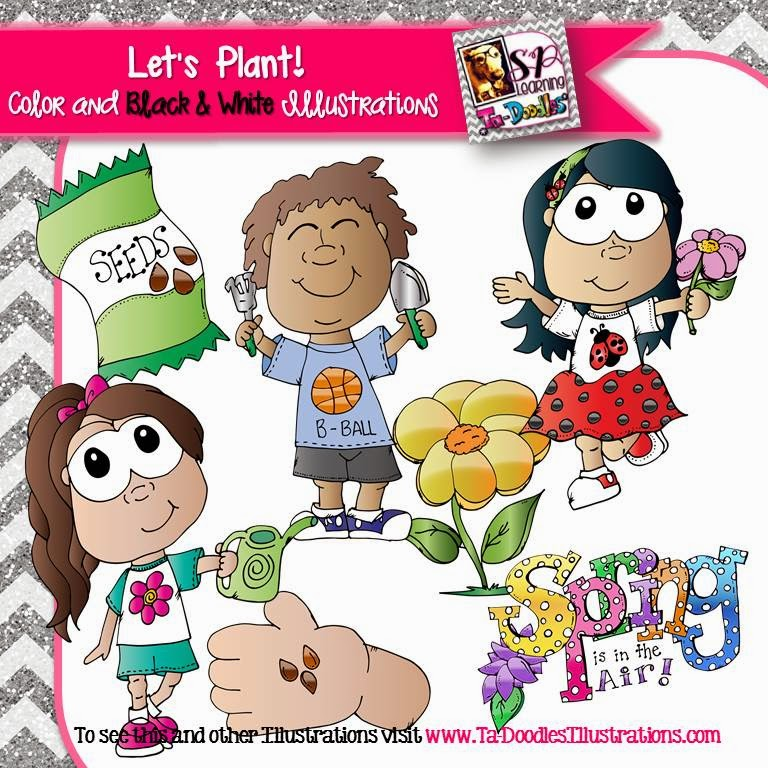 https://www.teacherspayteachers.com/Product/Kids-planting-clip-art-1729976