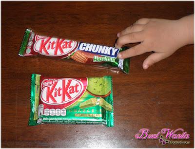 Rasa Coklat KitKat Chunky Teh Hijau / Green Tea Sedap Ke?