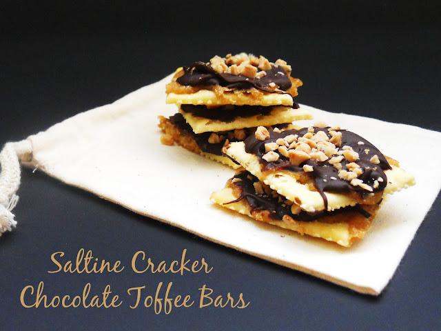Toffee Bars mit Club Cracker