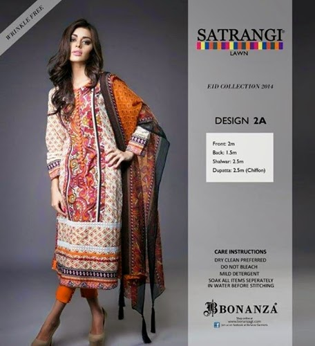 Bonanza Eid Collection 2014