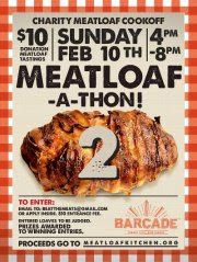 2nd Annual Meatloaf-A-Thon at Barcade