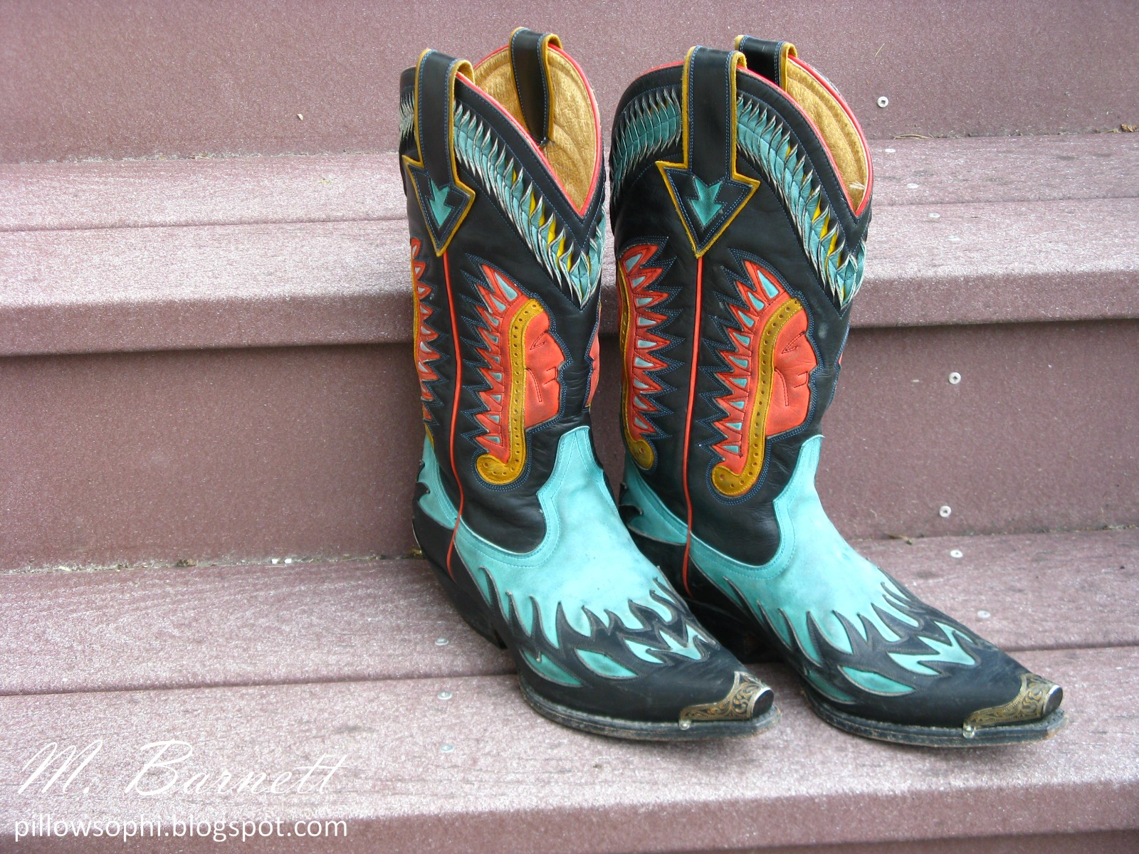 Pillowsophi Vintage: These Boots Were Made For Rockin' (Alternate ...