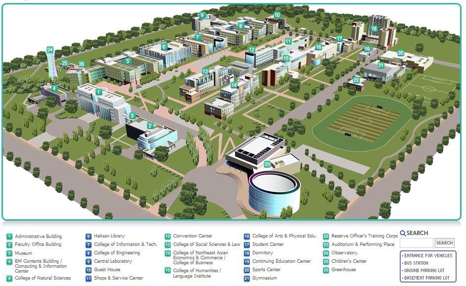Yonsei Campus Map.Ailene Nguyen Studentka Uic Yonsei University Chast 2 Wonrub
