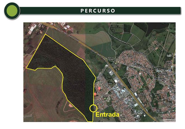 Percurso ECO Running Campinas 8k
