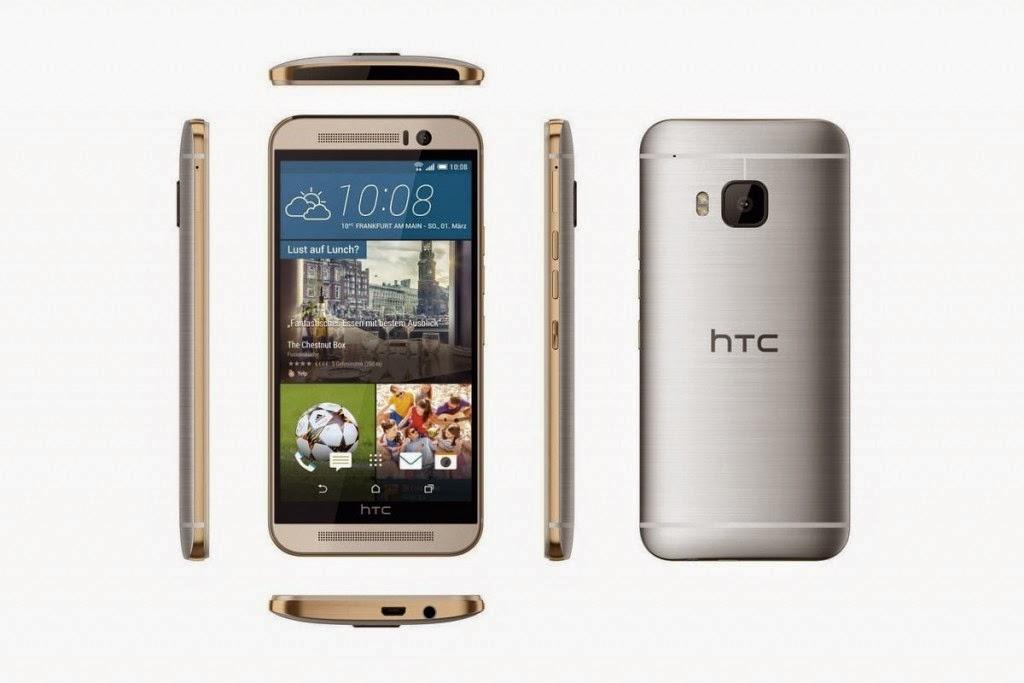 الخبير   طريقك إلى عالم التقنية ، هاتف HTC One M9 باللون الفضي والذهبي 3