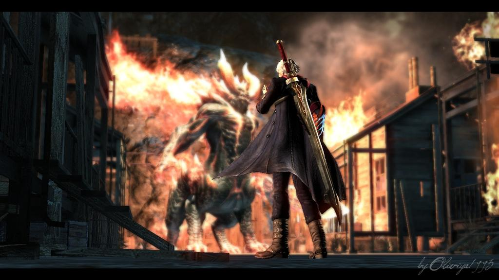 Devil May Cry HD & Widescreen Wallpaper 0.158477609119015