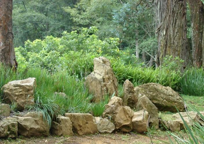 Paisajismo pueblos y jardines febrero 2011 for Jardines con piedras fotos