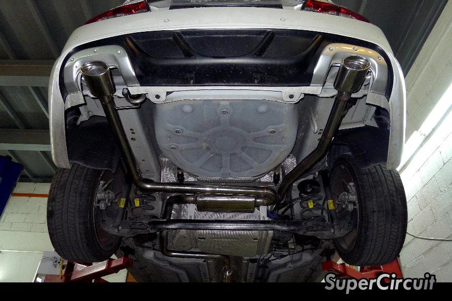 SUPERCIRCUIT Exhaust Pro Shop: Chevrolet CRUZE Twin ...