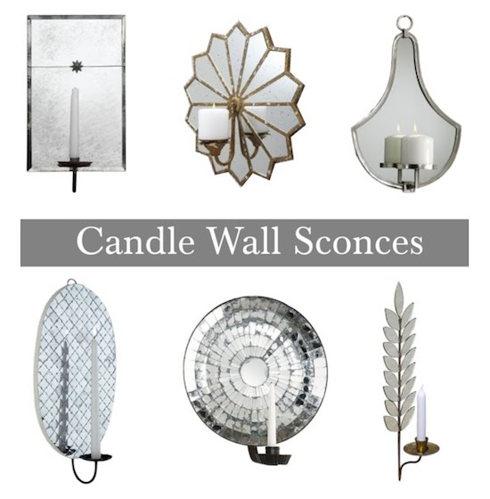 Halcyon Style: Candle Sconces