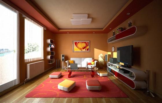 modern living room decorating design ideas 2011   interior design