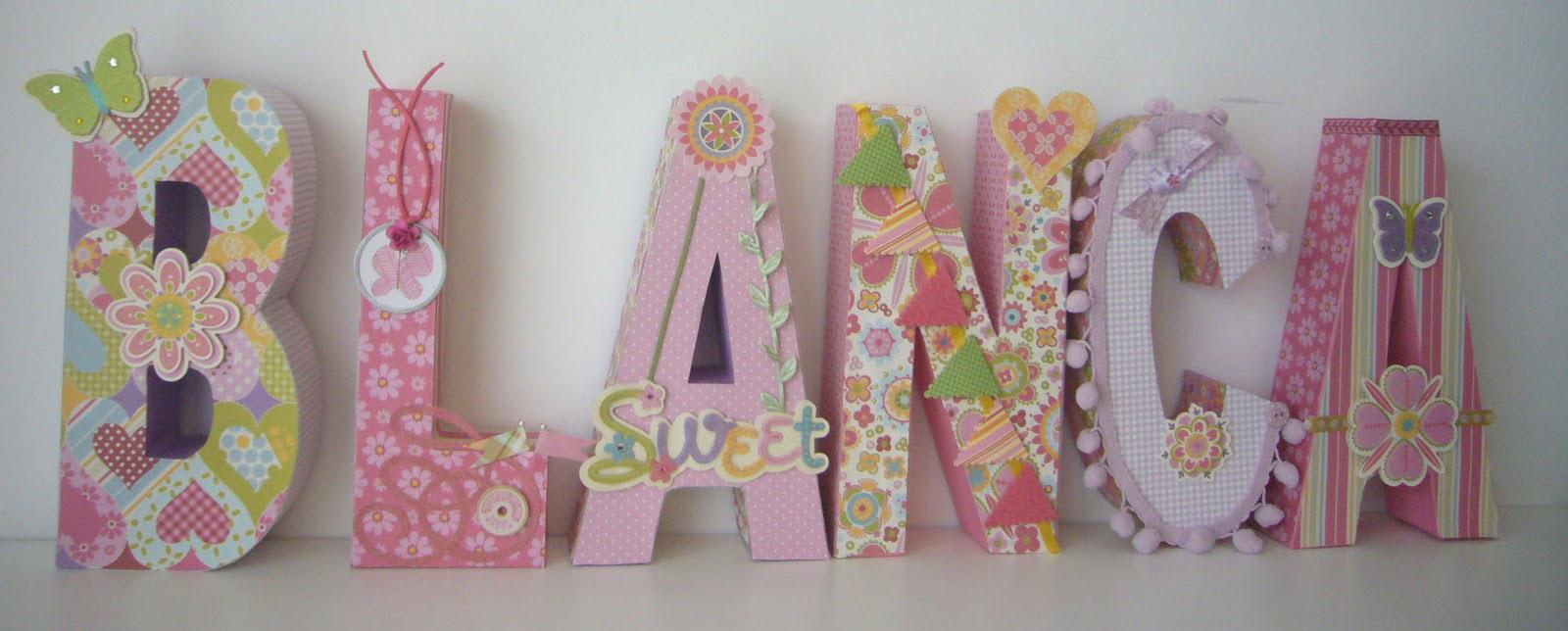 Letras decoradas para eventos - Letras de decoracion ...