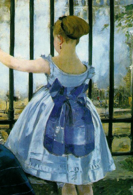 Luncheon on the grass manet detail