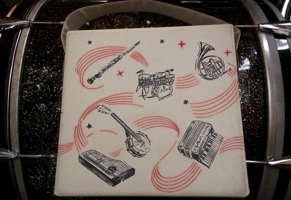 TRIXON GRAPHIC ON RECORD BAG