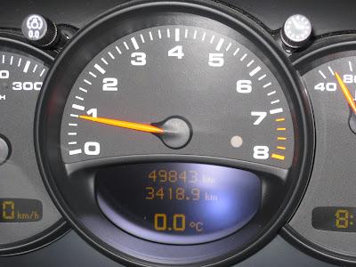 Porsche 911 0 degré au compteur!
