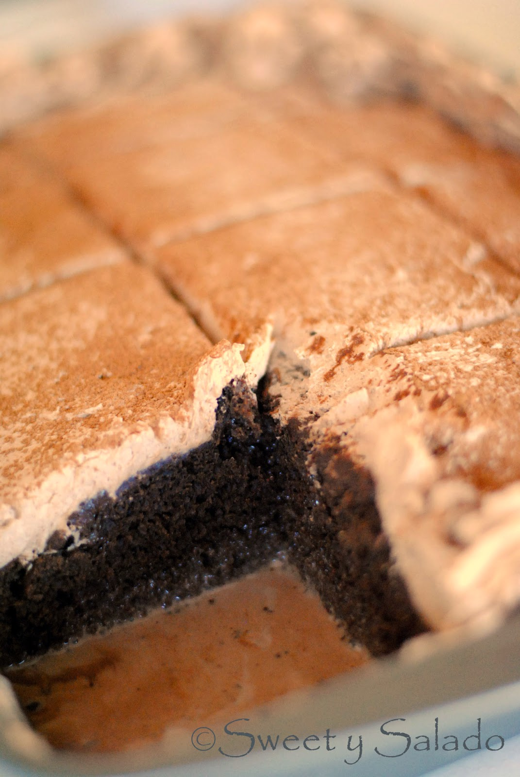 Sweet y Salado: Chocolate Tres Leches Cake
