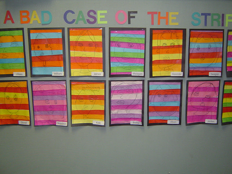 Mrs Ts First Grade Class A Bad Case of the Stripes – A Bad Case of Stripes Worksheets