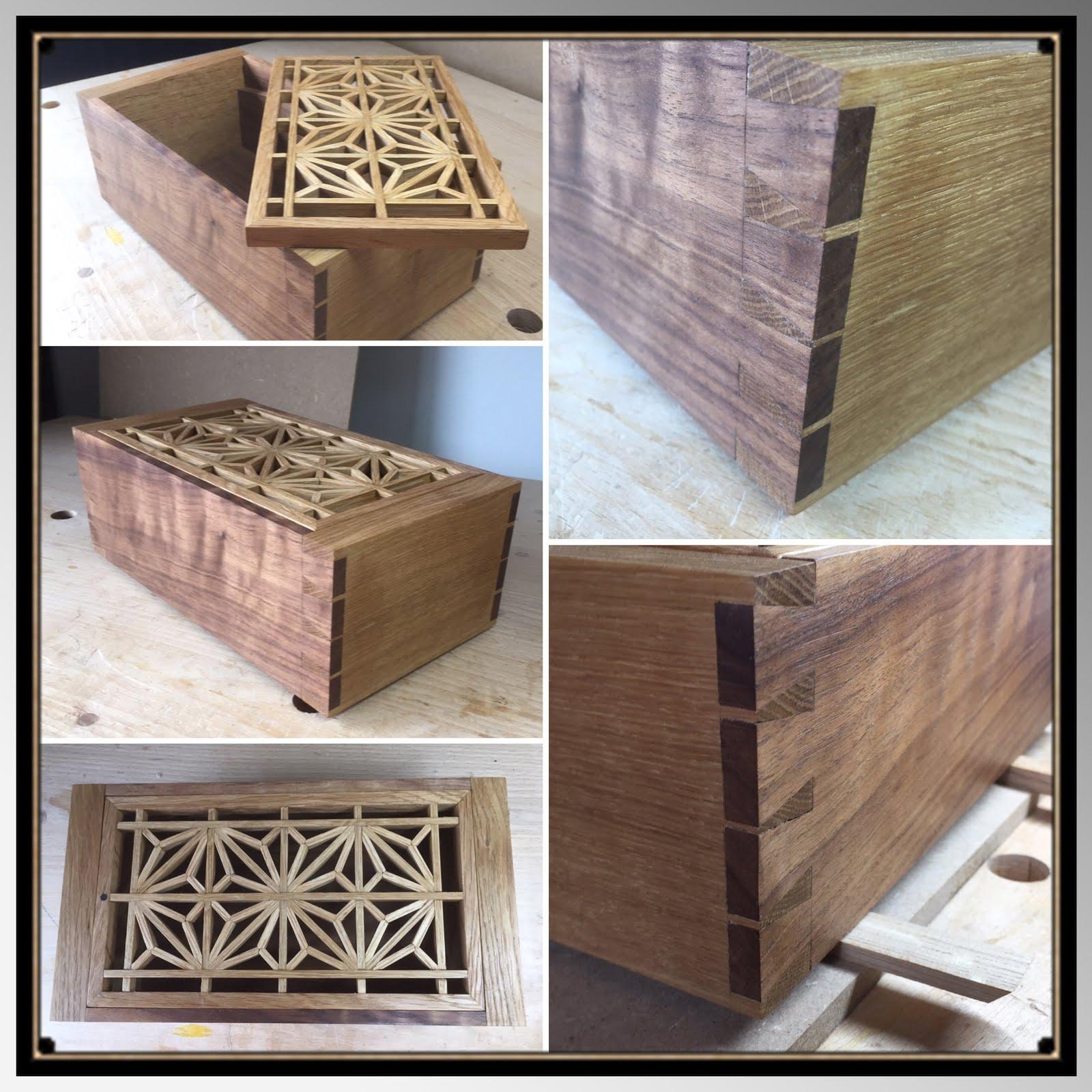 Kumiko Dovetail Box