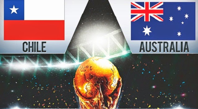 Prediksi Skor Piala Dunia Chile vs Australia 14 Juni 2014