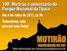 100º Mutirões e aniversário do Parque Nacional da Tijuca