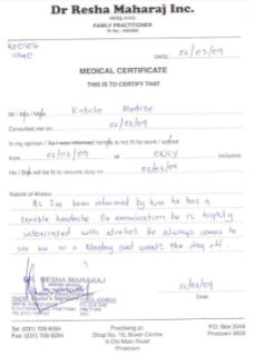 Fake Doctors Excuse: How to Use a Return to Work Note or a Fake ...