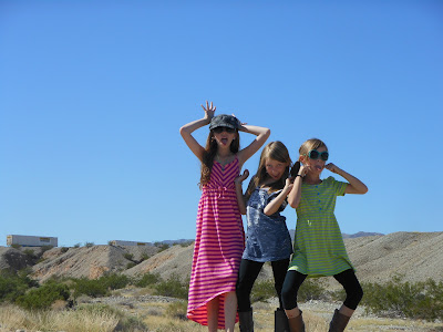 the girls in Laughlin