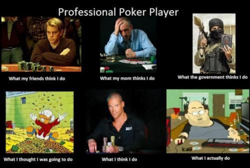 joueur de poker professionnel