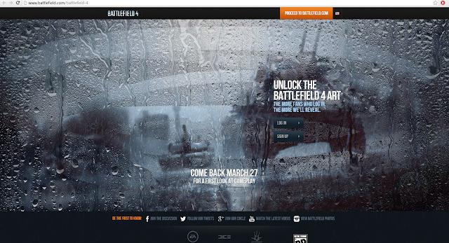 Battlefield 4 Website