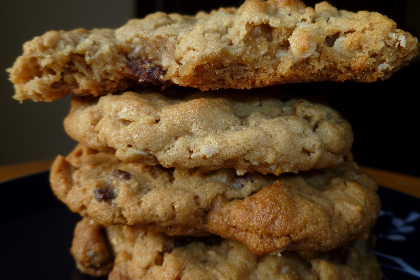 The Pastry Chef's Baking: Peanut Butter Oatmeal Chocolate Chip Cookies