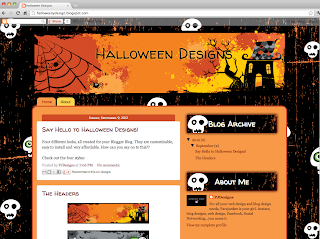 creepy+house Holiday Templates Book Blogger Design