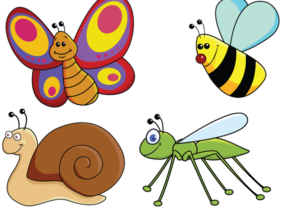funny cartoon insects 3 goodvector rh goodvector blogspot com cartoon insects vector cartoon insects images
