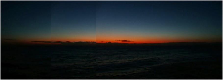 Este día yo ví Mercurio y Saturno sobre el amanecer