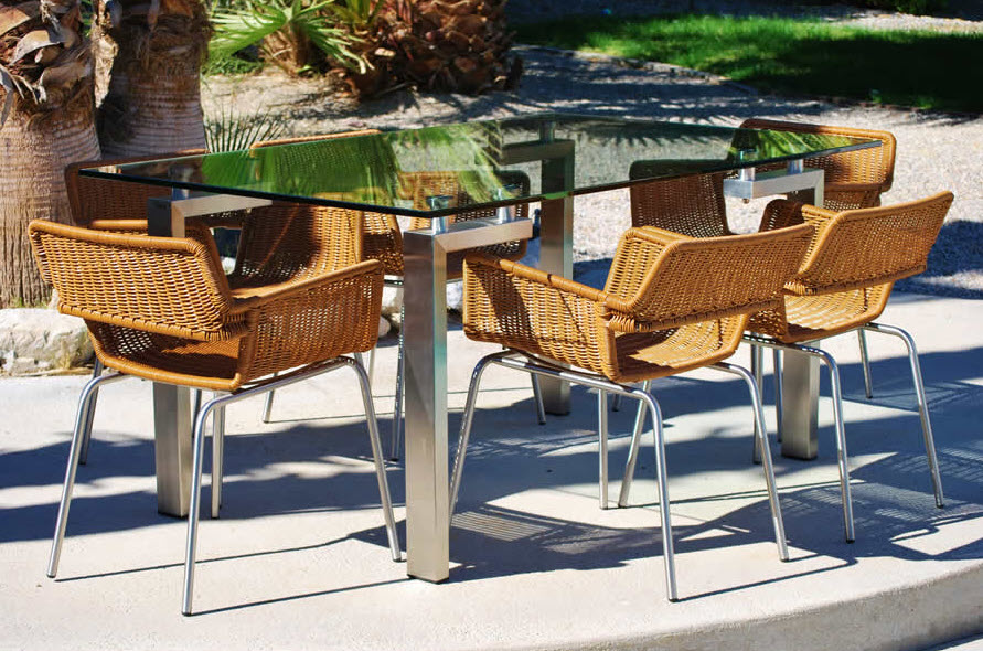 Psmw bringing the outdoors in mid century style mid for Palm springs modern furniture