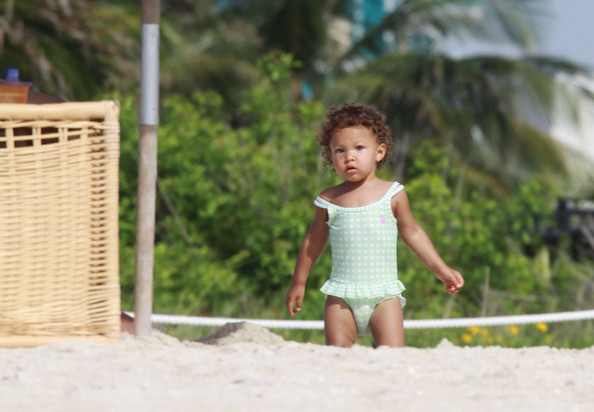 Halle Berry and gabriel Aubry's daughter Nahla Aubry