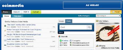 Ocim Media: Social Networking Indonesia