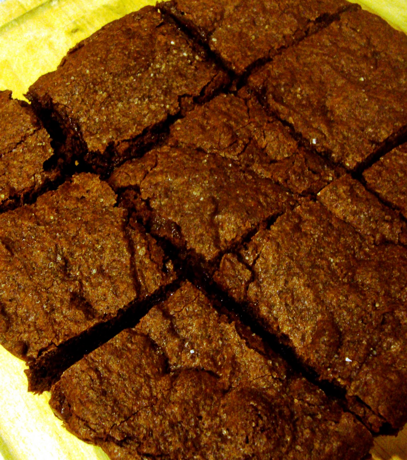Salted-Fudge Brownies - Bake Your Day