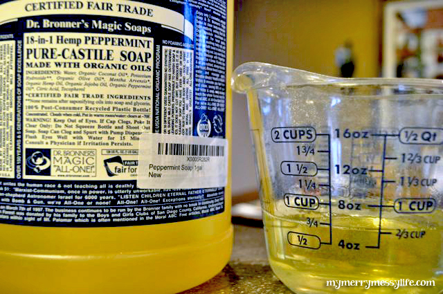 Homemade Laundry Detergent Using Castile Soap