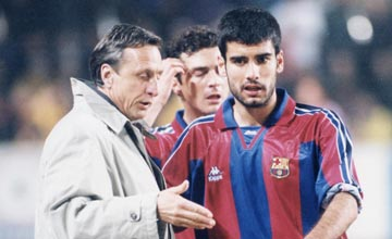 Chelsea, Man United or Man City? Cruyff confirms Guardiola will coach in England next season