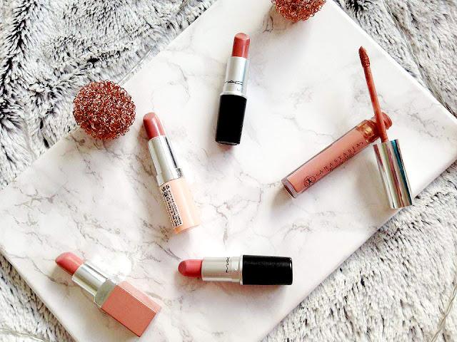 Current Favourite Nude Lipsticks