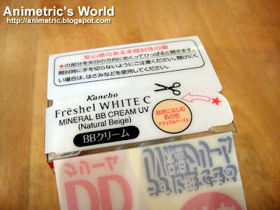Kanebo Freshel White C Mineral BB Cream Review