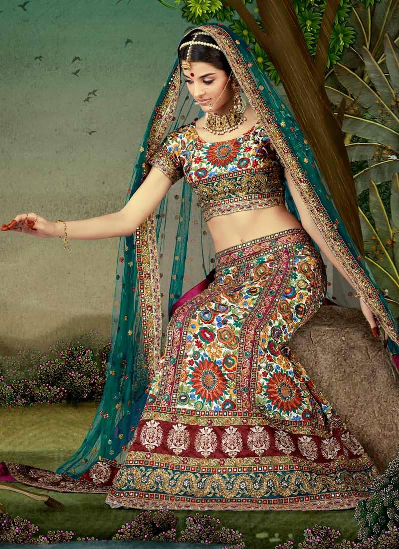 Bride's Shaadi Ka Joda: Lehanga Odhni dress